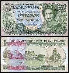 Falkland Islands - 10 Pounds 2011 - P. 18 - UNC