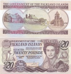 Falkland Islands - 20 Pounds 1984 - P. 15a - UNC