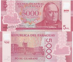 Paraguay - 5000 Guaranies 2016 - Pick 234 - Polymer - UNC