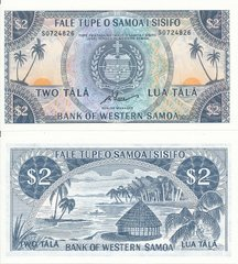Самоа - 2 Tala 1967 / 2020 - Pick 17cCS - Limited official reprint 2020 - Serie S - UNC