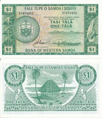 Самоа - 1 Tala 1967 / 2020 - Pick 16dCS - Limited official reprint 2020 - Serie S - UNC